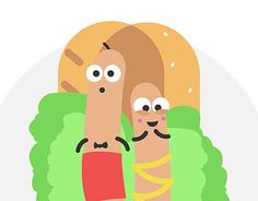 "Check out new work on my @Behance portfolio: ""hot-dog"" http://be.net/gallery/54404363/hot-dog"