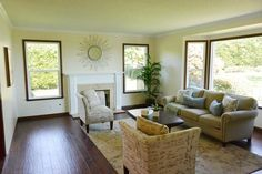 Cottage/Country Living Room photo by Shaping Spaces Group