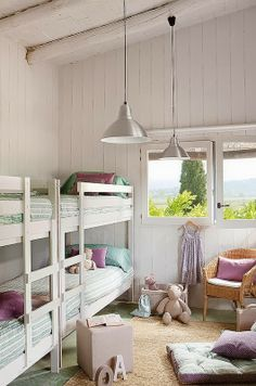 Bunks On Pinterest Bunk Rooms Bunk Bed And Lake Houses