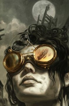 Steampunk by  Jon Foster (also the cover of the awesome book Boneshaker)