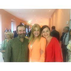 Momentazo de @gucateo y @yolandaandresandres con la baronesa  #lagaleriafactoria #museothyssenbornemisza #love #madrid
