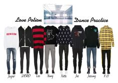 """""""""""Love Potion"""" Dance Practice"""" by onyxofficial ❤ liked on Polyvore featuring Neil Barrett, Gucci, Reebok, Off-White, Helmut Lang, Vetements, Mastermind World, EA7 Emporio Armani, Yves Saint Laurent and Calvin Klein Jeans"""