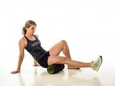 How to use a foam Roller: Hamstring http://symmetry4me.com/foamrolling/