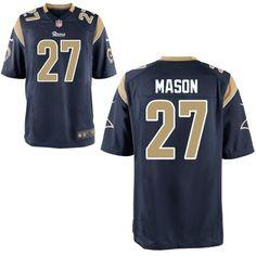 Tre Mason St. Louis Rams Nike 2014 NFL Draft  3 Pick Game Jersey - 6a32bd2fe