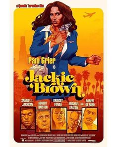 ► Jackie Brown de Quentin Tarantino ► By Stan & Vince Iconic Movie Posters, Cinema Posters, Movie Poster Art, Poster Poster, Cinema Movies, Cult Movies, Film Movie, Jackie Brown, Good Girl