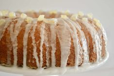 The BEST Glazed Lemon Ricotta Bundt Cake! Super moist and delicious, this lemon ricotta cake is perfect for brunches, holidays, dinners, or anytime you want a tasty and easy Italian dessert recipe. Candied Lemon Peel, Candied Lemons, Lemon Ricotta Cake, Ricotta Cheesecake, Lemon Bread, Cake Recipes, Dessert Recipes, Lemon Recipes, Brunch Recipes