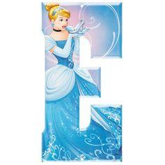 Cinderella Disney Princess Metal Letter - E⎜Open Road Brands