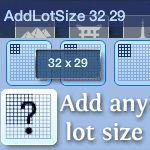*I INSTALLED* Add Any Lot Size -EA adds new community and/or residential lots in every expansion. Unfortunately the sizes of those lots can be completely random. Or even if they're not random, they could be 40x30, which is not available in the World Editor.    This script mod will allow you to add any size (from 1x1 to 64x64) to the World Editor from the cheat console