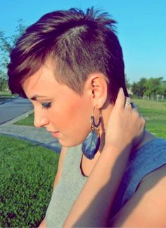 Too scared to do this to my hair, but I love the way it looks