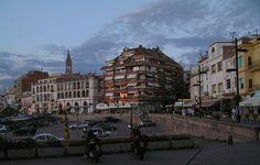 Picture of Palamós from Plaça de Sant Pere - Palamós – Wikipedia, wolna encyklopedia