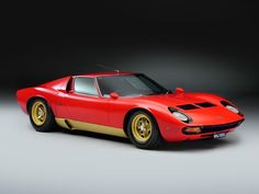 1972 Lamborghini Miura - SV | Classic Driver Market