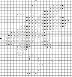 Free Expressive Motifs Cross Stitch Patterns: Free Dragonfly Motif Cross Stitch Pattern