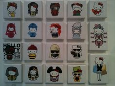 19 Awesome Pieces at the Hello Kitty Art Show