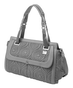 This Petunia by Petunia Pickle Bottom Graphite Soho Satchel by Petunia by Petunia Pickle Bottom is perfect! #zulilyfinds
