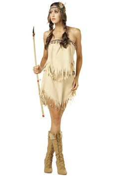 indian princess costume adult princess navajo indian adult costume for halloween pure costumes - Halloween Native American Costumes