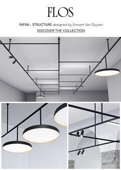 Письмо «Check out Flos Infra - Structure! Office Lighting, Interior Lighting, Lighting Design, Chandelier Lamp, Pendant Lamp, Chandeliers, Ceiling Light Design, Ceiling Lights, Blitz Design