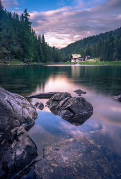 Mountain Lake by petztobias Beautiful Words, Beautiful Places, Beautiful Scenery, Innsbruck, Obernberg Am Brenner, The Places Youll Go, Places To See, Travel Around The World, Around The Worlds