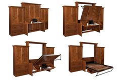 Murphy Wall Beds - Buy Amish Furniture