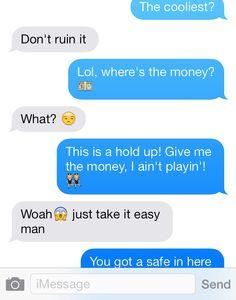 Texting hug