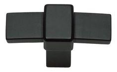 Black Buckle Up Knob (ATH301BL)