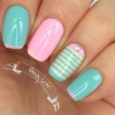 #pastel #nail #unhas #unha #nails #unhasdecoradas #nailart
