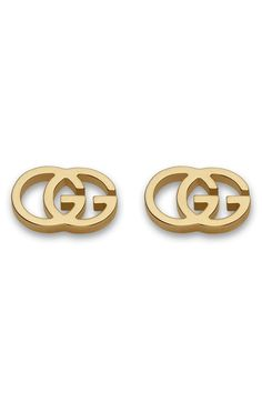 77067ebe15c Gucci Double-G Stud Earrings