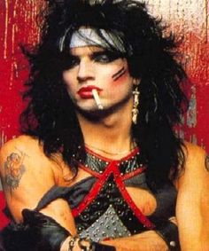 rolltider17 uploaded this image to 'Motley Crue/Tommy Lee/Tommy Lee - Old Makeup'.  See the album on Photobucket.