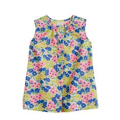 Baby tunic in garden floral - J Crew $39.50