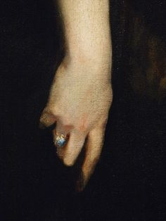 Detail: Edith, Lady Playfair (Edith Russell), 1884 by John Singer Sargent