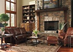 spokane leather sofa by flexsteel by town country leather furniture. Interior Design Ideas. Home Design Ideas