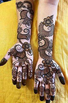 Bridal Henna Mehndi Designs for Full Hands Circle Mehndi Designs, Khafif Mehndi Design, Latest Arabic Mehndi Designs, Rose Mehndi Designs, Henna Tattoo Designs Simple, Latest Bridal Mehndi Designs, Mehndi Designs For Girls, Mehndi Designs For Beginners, Unique Mehndi Designs