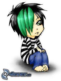 Carteles anime emo gotica deathnote amigos vida suenos tristeza emo boy bangs loneliness x 399 px lifestyleemo pictures and wallpapers altavistaventures Images