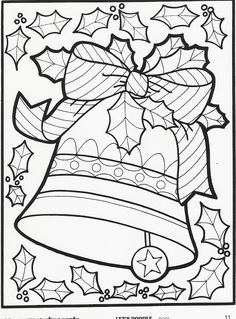 coloring pages doodling | ... Let's Doodle coloring pages– just in time for the holiday season