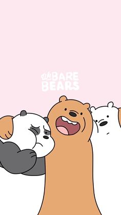 We bare bears.