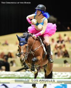Sure he's won three World Cup titles, and Olympic gold medals, but have you seen Rodrigo Pessoa's Katy Perry impression?