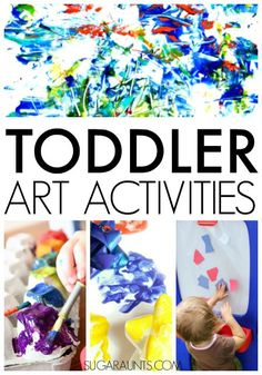 15 Simple Toddler Art Projects Toddler Play Toddler Art Projects