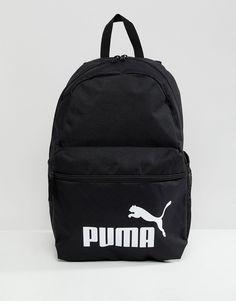 78cdaa0c9eec Shop Puma Phase Backpack In Black 07548701 at ASOS.
