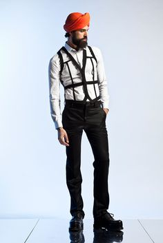 Jean Paul Gaultier Men's Spring 2013 Collection as  shot by Style.com.