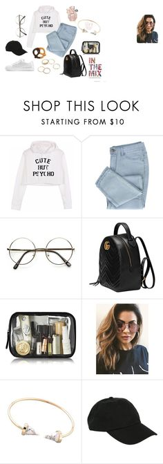 """""""Untitled #25"""" by explorer-14920292398 on Polyvore featuring Gucci, MINKPINK, Hot Topic and WithChic"""