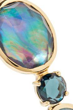 Ippolita - Rock Candy Open Gelato Kiss 18-karat Gold Multi-stone Bracelet - one size