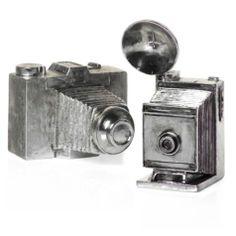 Antique Silver Cameras $9.95