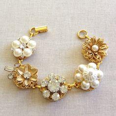 Vintage earring bracelets!
