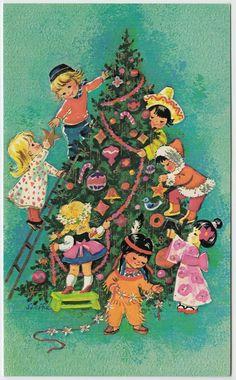 Vintage Greeting Card Christmast