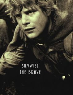 Sam has to be one of my all time favorite fictional characters. I'd write a paragraph or maybe even an essay on why, but i think nothing could do him justice better than the title Frodo gave him: Samwise the Brave.