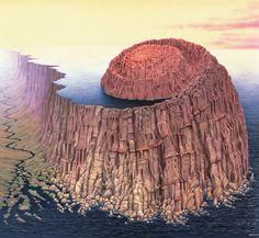 Jacek Yerka - Art Collection: Amonit