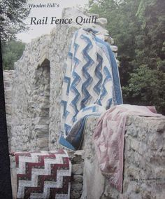 Rail Fence Quilt Pattern Book by TheHowlingHag on Etsy, $7.95