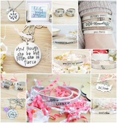 BIG/LITTLE shopping with sorority sugar… I have a huge CRUSH on these hand-stamped jewelry designs! There are lots of adorable quotes, big/little designs, USA states and Greek letters to choose from. Custom options are available too. Big/littles, new members, new initiates and grads will ALL love this fresh jewelry collection. <3