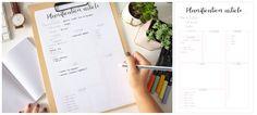 Planner à imprimer - planification article Bullet Journal En Français, Organiser, Letter Board, Budgeting, Notebook, Organization, How To Plan, Ranger, Printables