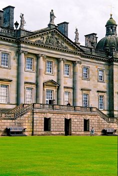 #Houghton Hall, #Norfolk, England - 1720s = architects James #Gibbs and Colen Campbell for the house whilst William Kent took charge of the interiors