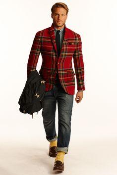 """ralph lauren fall winter 2014 """"interesting blazer"""""""